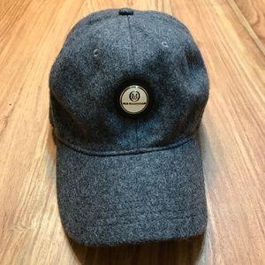 90s Ahead Old Macdonald Golf Club Leather Wool Cap